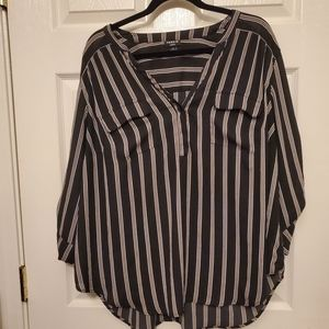 Torrid Striped Harper Top